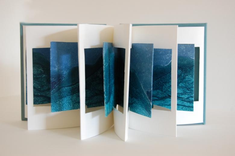 artist book body back folded