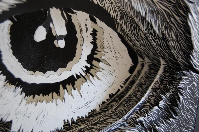 eye tunnel detail